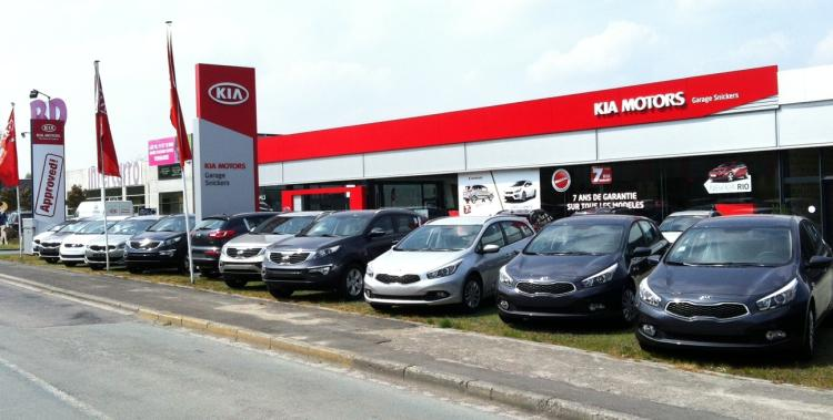 Kia steveny for Garage kia evreux